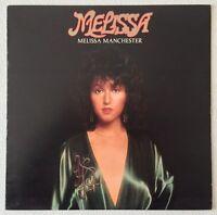 MELISSA MANCHESTER ~ MELISSA ~ 1975 UK 10-TRACK VINYL LP RECORD