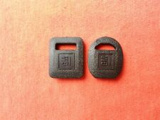 1969 - 1987 GM CHEVY BUICK PONTIAC OLDSMOBILE CADILLAC BLACK NOS KEY COVERS