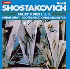 Shostakovich: Ballet Suites 1, 2, 3 / Neeme Jarvi, Scottish National Orch. - CD