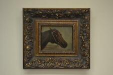 """Beautiful Horse Painting Sweet Frame Signed """"Robinson"""""""