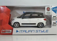 "MondoMotors 53140 FIAT 500L ""Bianca"" - METAL Scala 1:43"