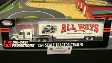 DCP#33846 ALL WAYS MOVING IH LONESTAR SEMI CAB TRUCK & DRY VAN TRAILER 1:64/CL