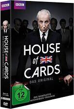 6 DVD-Box ° House of Cards ° Miniserien Trilogie ° Staffel 1 + 2 + 3 ° NEU & OVP