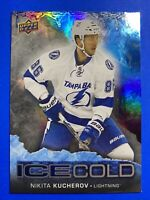 2017-18 Upper Deck Overtime Ice Cold #IC-14 Nikita Kucherov Tampa Bay Lightening