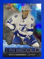 2017-18 Upper Deck Overtime Ice Cold #IC-14 Nikita Kucherov Tampa Bay Lightning