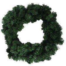 Christmas Artificial 18' (46cm) Undercoated Wreath - 120 Plain Tips