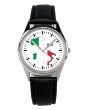 Italien Italy Italia Souvenir Geschenk Fan Artikel Zubehör Fanartikel Uhr B-1097