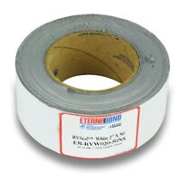 "New 2"" X 50' EternaBond RV Rubber Roof Seal Repair White"