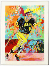 Leroy Neiman Signed Willie Stargell, Serigraph, 27/300, Kent Tekulve Collection