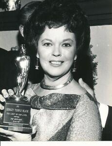 SHIRLEY TEMPLE Original CANDID Award Banquet Vintage 1978 Press Portrait Photo