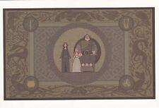 Disney Postcard Brave Queen Elinor Merida King Fergus Hamish Harris Hubert 2012