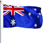 NEW 3X5ft AUSTRALIA FLAG AUSTRALIAN FOOTBALL BANNER satin material 90x150cm