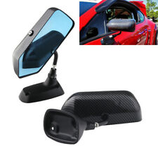 2PCS Auto Rainproof Rearview Mirror Blue Side Mirror Universal Car Accessories