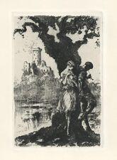 Louis Icart original etching