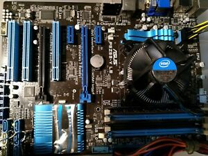 ASUS P8Z68-V LE Z68 + CORE i5 2320 Intel Socket LGA1155 SATA PCI motherboard AMD