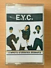 E.Y.C. Express Yourself Clearly SEALED PHILIPPINES NOS Cassette Tape