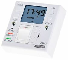 Fused Spur 247 Timer TimeGuard FST 77A for Electric Radiator and Towel Rail
