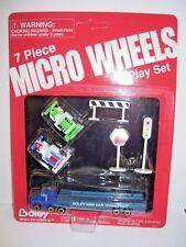 1997 Boley Micro Machines Tractor Trailer Car Transport Set of Seven MIP
