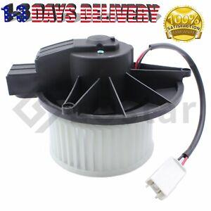 Heater Blower Motor w/ Fan Cage For 07-12 Dodge Nitro Jeep Liberty 68003996AA