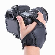 Movo HSG-2 Padded Dual Wrist + Grip Strap for Canon Nikon Sony DSLR SLR Camera