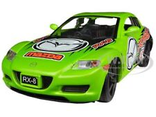 MAZDA RX-8 GREEN #5 GT RACING 1/24 DIECAST CAR MODEL BY MOTORMAX 73778