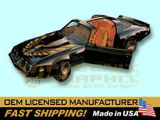 1980 Pontiac Firebird Turbo Trans Am Special Edition Bandit Decals & Stripes Kit