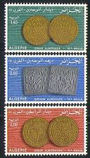 Algeria 1977 Ancient Coins/Money/Commerce/Currency/Business 3v set (n32182)