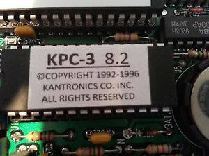 Kantronics KPC-3 (Non-plus) TNC Firmware Upgrade