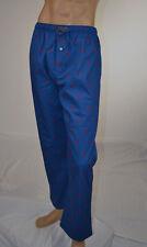 Ralph Lauren Blue Pajama Bottom Sleepwear/Red Ponies NWT -L- 36-38