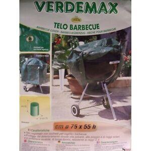Toile Barbecue Ronde Verdemax 6812 cm75x55h avec Oeillet Anti U. V.Imperméable