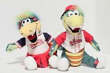 Lowell Spinners Set of 2 Plush Toy Dolls: Allie-gator & Canaligator alligators