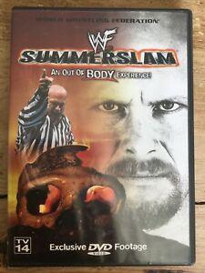 WWF Summerslam 1999 DVD WWE RARE