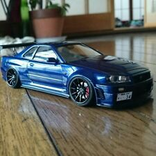 Tamiya R34 GT R Z tune Plastic model finished product original from JAPAN