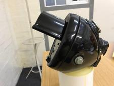 """bsa triumph norton matchless Headlight headlamp DU42 6 1/2"""" Black out hood mask"""