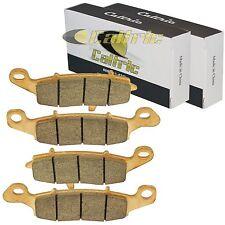 FRONT and REAR BRAKE PADS FIT KAWASAKI VULCAN 800 DRIFTER VN800 VN 800 1999-2000