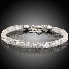 Hot Fashion Lady's Bracelet 18K White Gold Plated Net Swarovski Crystal K230