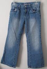 Girl Gymboree 8 Plus Bootcut Jeans 8 1/2 Adjustable Waist Denim Stretch VGUC