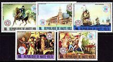 Upper Volta / Burkina Faso - 1976 Bicentenary USA - Mi. 640-44 MNH
