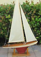 Tillicum 24 inches LONG MID 1930'S NEW SAILS, REBUILT CABINS,
