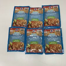 McCormick Discontinued Good Morning Seasoning Mix Mexican Egg Casserole Lot of 6