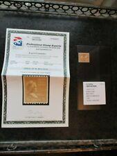 1 1/2c #849 849 Stamp Pse Xf 90 Mint Ognh Martha Washington 1939 1 1/2 Cents