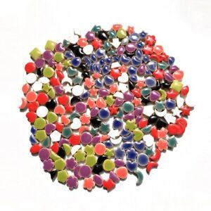 1cm Star Moon Flower Irregular Decorate Ceramic Mosaic DIY Material Art Craft