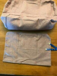 IKEA DELAKTIG COVER ONLY for backrest + back Light brown-pink Gunnared