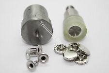 10mm Tubular Rivets Studs Tool Die Set Kit for Green Hand Press Machine Craft