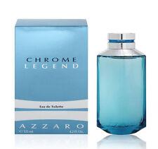 CHROME LEGEND BY AZZARO 4.2 OZ EDT *SPRAY MEN'S COLOGNE*NEW SEALED BOX / PERFUME