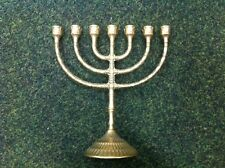 candlestick menorah very large 7 branch candlestick holder solid brass