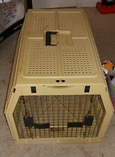 """Nylabone Collapsible Dog Crate Fold Away Pet Kennel/Carrier Large 27""""x20""""x19"""""""