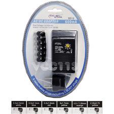Seven Star 1.5V,3V,4.5V,6V,7.5V,9V,12V DC,600mA 13W Regulated Universal AC to DC