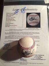 ICHIRO SUZUKI SIGNED GAME USED BASEBALL - 100TH HR GAME-MILESTONE ICHIRO-JSA/MLB