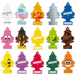 6 X MAGIC TREE LITTLE TREES CAR HOME AIR FRESHENER VARIOUS SCENTS